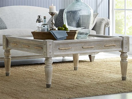 A.R.T. Furniture Summer Creek Scrubbed Oak 43'' Wide Square Coffee Table AT2513011303