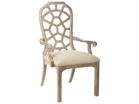 A.R.T. Furniture Summer Creek Scrubbed Oak Arm Dining Chair (Set of 2)