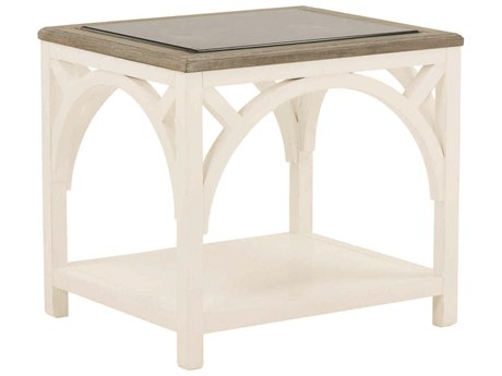 A.R.T. Furniture Summer Creek Spinnaker Scrubbed Oak / Harbor White 22'' Wide Rectangular End Table AT2513031340