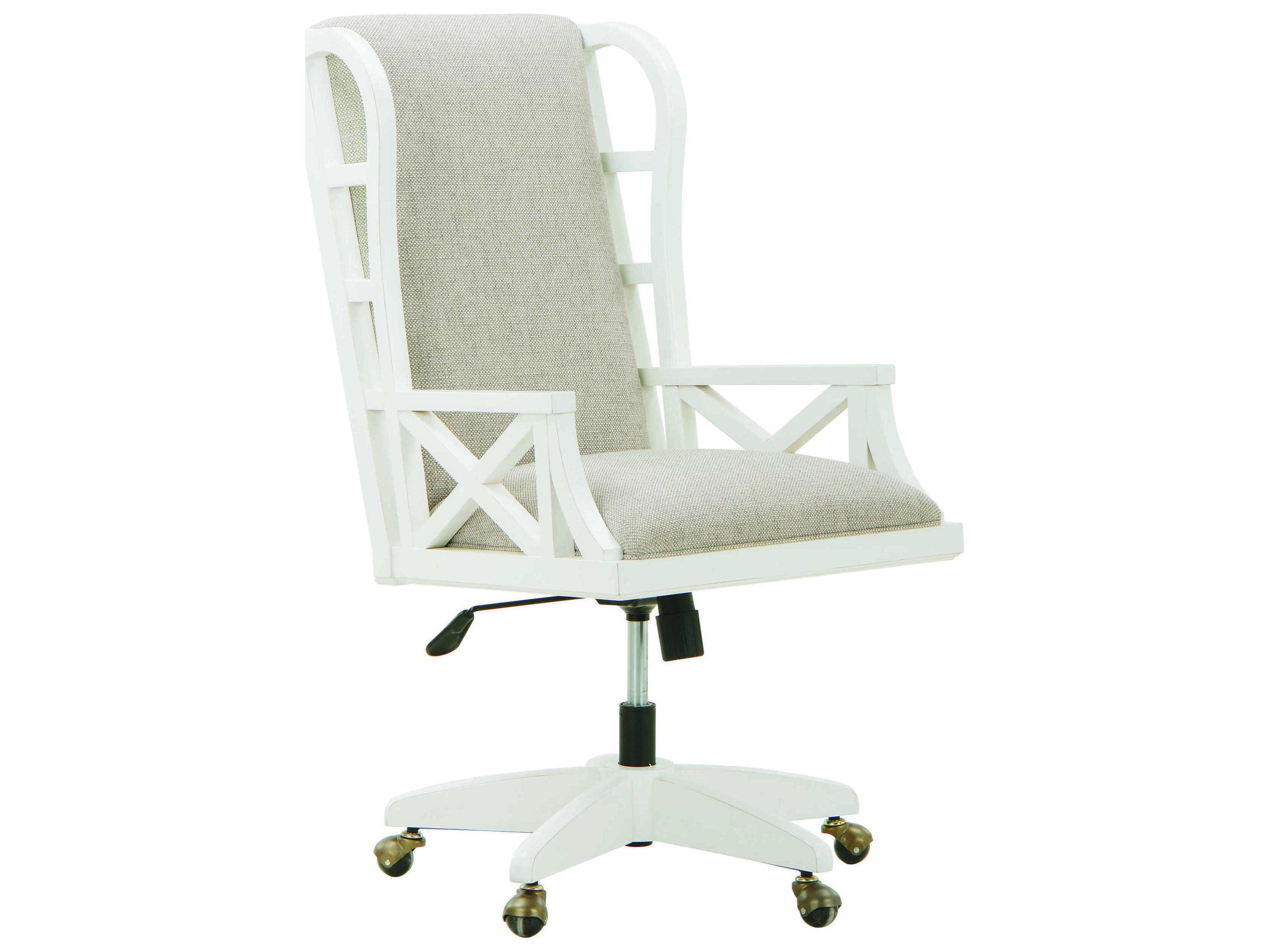 A.R.T. Furniture Summer Creek Harbor White Executive Chair