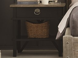 Summer Creek Scrubbed Oak / Hale One-Drawer Nightstand