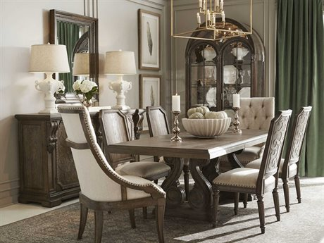 A.R.T. Furniture Vintage Salvage Dining Room Set