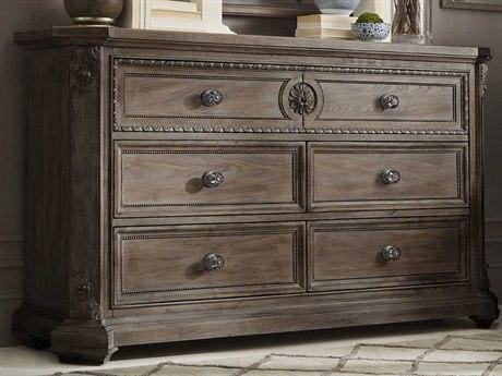 A.R.T. Furniture Vintage Salvage Walnut Six-Drawer Double Dresser