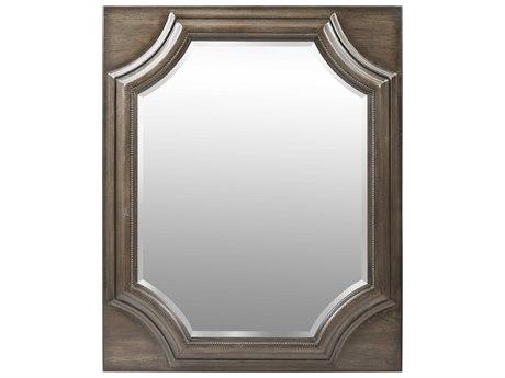 A.R.T. Furniture Vintage Salvage Searles Walnut 40''W x 49''H Rectangular Dresser / Wall Mirror