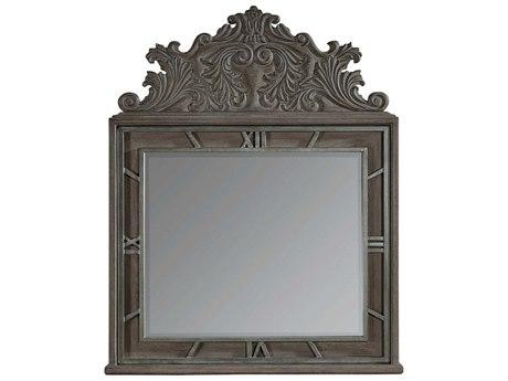 A.R.T. Furniture Vintage Salvage Benjamin Walnut 47''W x 58''H Dresser / Wall Mirror