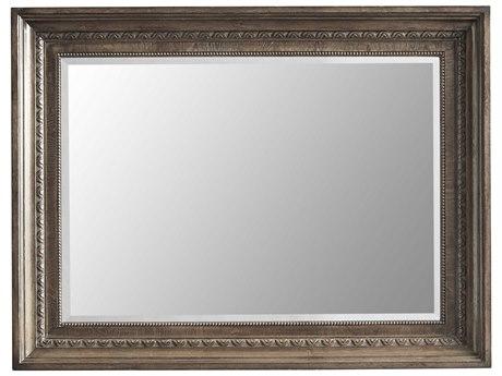 A.R.T. Furniture Vintage Salvage Nichols Walnut 45''W x 34''H Rectangular Dresser / Wall Mirror