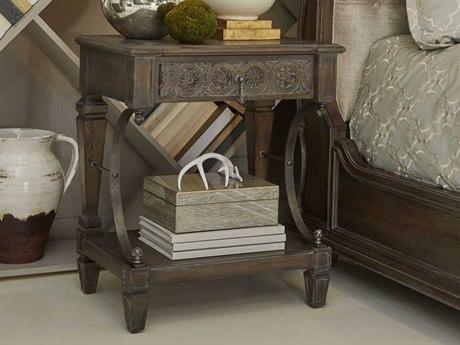 A.R.T. Furniture Vintage Salvage Walnut One-Drawer Nightstand