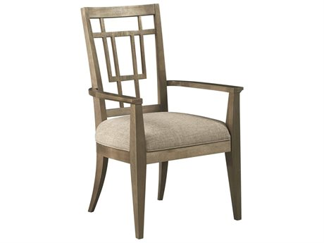 A.R.T. Furniture Woodwright Champagne Arm Dining Chair (Sold in 2)
