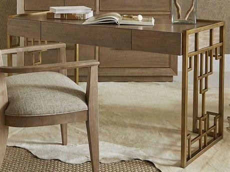 A.R.T. Furniture Woodwright Champagne Secretary Desk