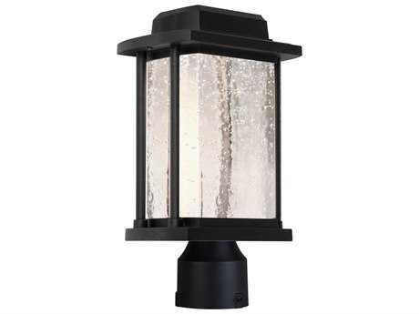 Artcraft Lighting Addison Black LED Outdoor Post Light ACAC9123BK