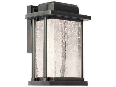 Artcraft Lighting Addison Silver Leaf LED Outdoor Wall Light ACAC9120SL
