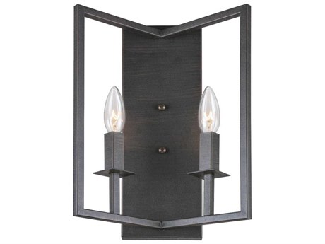 Artcraft Lighting Allston Oil Rubbed Bronze Two-Light Wall Sconce ACAC10727OB