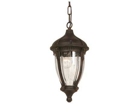 Artcraft Lighting Anapolis Oil Brushed Bronze Four-Light Outdoor Hanging Light