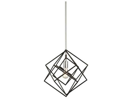 Artcraft Lighting Artistry Polished Nickel 16'' Wide Pendant Light ACAC11111PN