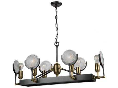Artcraft Lighting Baker Street Six-Light 15.75'' Wide Island Light ACAC10602