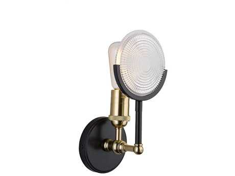 Artcraft Lighting Baker Street Black Wall Sconce