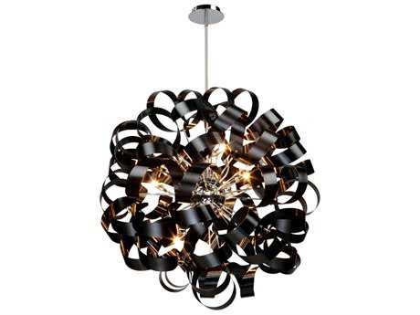 Artcraft Lighting Bel Air Black 12-Light Pendant ACAC602BK