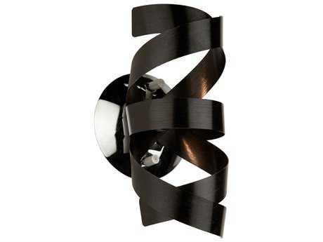 Artcraft Lighting Bel Air Black Wall Sconce ACAC603BK