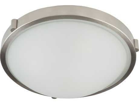 Artcraft Lighting Boise Brushed Nickel Three-Light Flush Mount Light ACAC2317BN