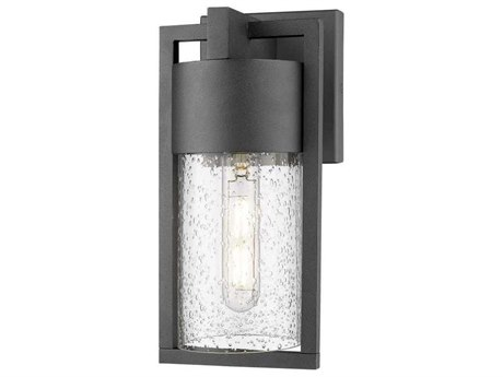 Artcraft Lighting Bond Black 5'' Wide LED Outdoor Wall Light ACAC9140BK