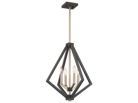Artcraft Lighting Breezy Point Bronze Four-Light 20'' Wide Mini Chandelier