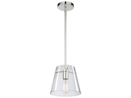 Artcraft Lighting Cafe Chrome 10'' Wide Glass Mini Pendants ACSC13230