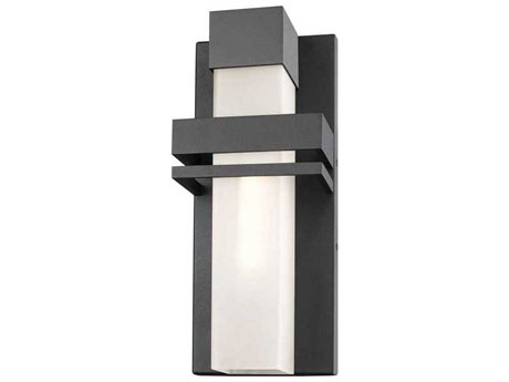 Artcraft Lighting Camden Black 7'' Wide LED Outdoor Wall Light ACAC9150BK