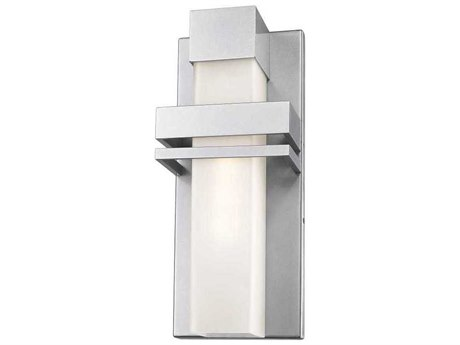 Artcraft Lighting Camden Silver 7'' Wide LED Outdoor Wall Light ACAC9150SL