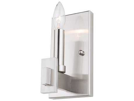 Artcraft Lighting Cityscape Polished Nickel Wall Sconce ACCL15081PN