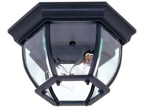 Artcraft Lighting Classico Black Two-Light Outdoor Ceiling Light ACAC8096BK