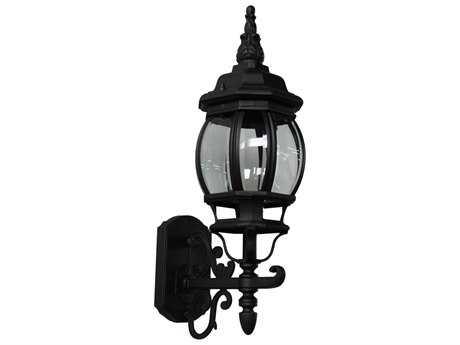 Artcraft Lighting Classico Black Outdoor Wall Light ACAC8090BK