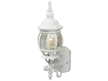Artcraft Lighting Classico White Outdoor Wall Light ACAC8090WH