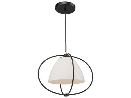 Artcraft Lighting Dewdrop Black 16'' Wide Glass Pendant ACSC13170