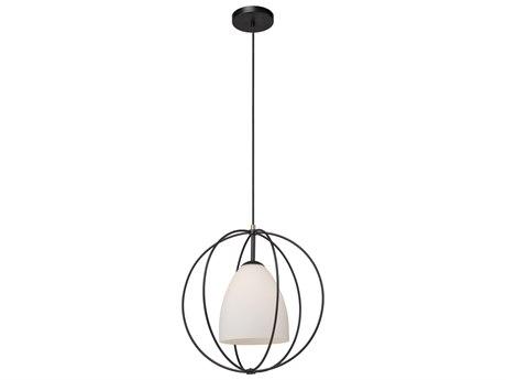 Artcraft Lighting Dewdrop Black 17'' Wide Glass Pendant ACSC13172