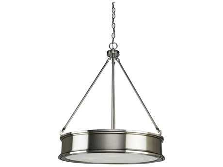 Artcraft Lighting Eastwick Brushed Chrome Four-Light 21.5'' Wide Chandelier
