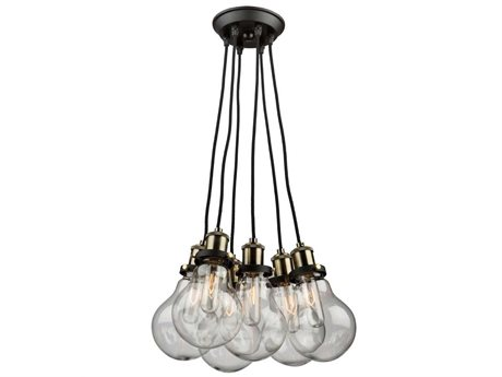 Artcraft Lighting Edison Five-Light 15.75'' Wide Pendant Light ACAC10485