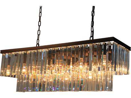 Artcraft Lighting El Dorado Java Brown 13-Light Island Light