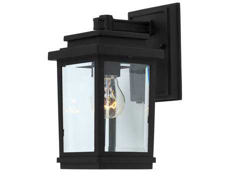 Artcraft Lighting Fremont Black Outdoor Wall Light ACAC8190BK