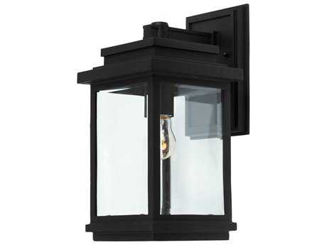 Artcraft Lighting Fremont Black Outdoor Wall Light ACAC8290BK