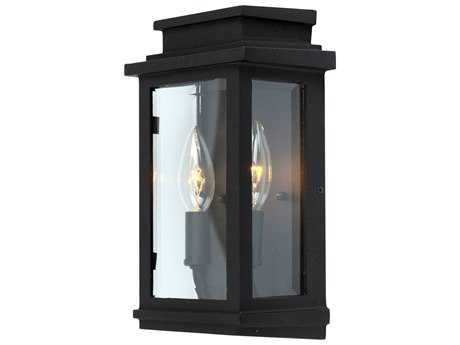 Artcraft Lighting Fremont Black Two-Light Outdoor Wall Light ACAC8291BK