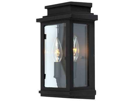 Artcraft Lighting Fremont Black Two-Light Outdoor Wall Light