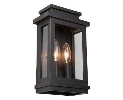 Artcraft Lighting Fremont Oil Rubbed Bronze Two-Light Outdoor Wall Light