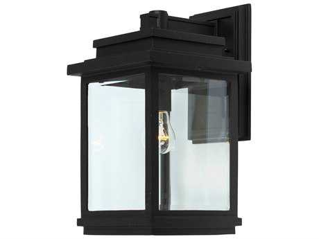 Artcraft Lighting Fremont Black Outdoor Wall Light ACAC8390BK