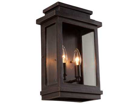 Artcraft Lighting Fremont Oil Rubbed Bronze Two-Light Outdoor Wall Light ACAC8391ORB
