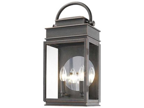 Artcraft Lighting Fulton Oil Rubbed Bronze Two-Light 8'' Wide Outdoor Wall Light ACAC8231OB