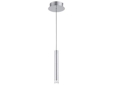 Artcraft Lighting Galiano Satin Aluminum 1'' Wide LED Mini Pendants ACAC7082SA