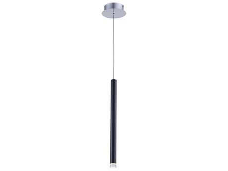Artcraft Lighting Galiano Black 1'' Wide LED Mini Pendants ACAC7084BK