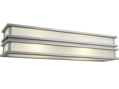 Artcraft Lighting Gatsby Brushed Stainless Steel Four-Light Wall Sconce ACSC13006SN