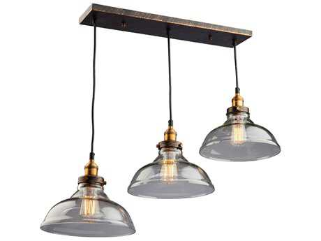 Artcraft Lighting Greenwich Oil Rubbed Bronze Three-Light 35'' Wide Island Light ACAC10170