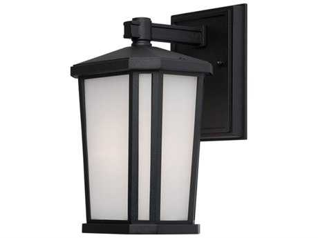 Artcraft Lighting Hampton Black Outdoor Wall Light ACAC8761BK